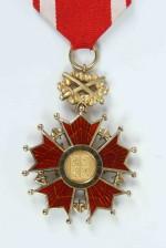 Řád Bílého lva – vojenská skupina, IV. třída