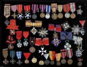 Řády a vyznamenání generála Vojtěcha Luži