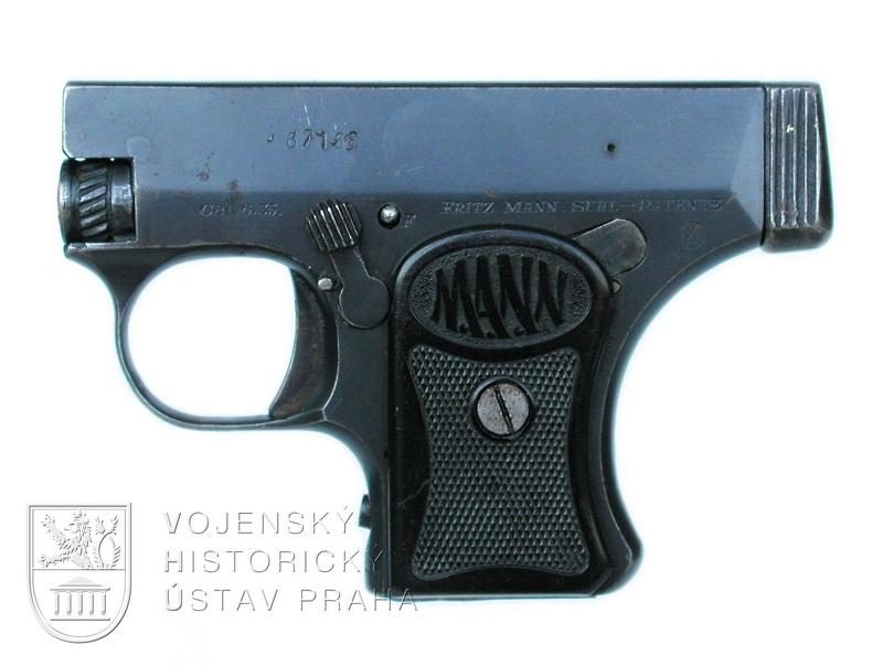 Německá pistole Mann W.T. Modell 1921