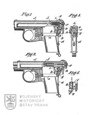 Německá pistole Mauser W.T.P. Modell I