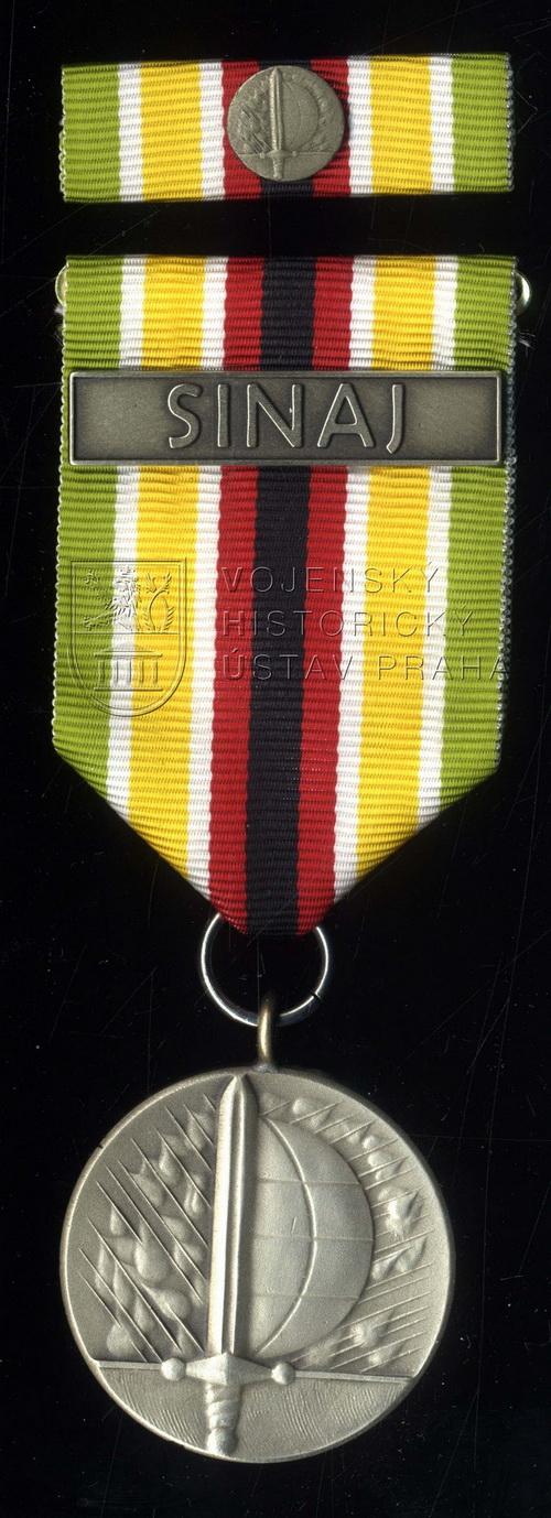 Medaile ministra obrany Za službu v zahraničí – mise MFO Sinaj, 2. stupeň
