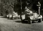 Průzkumné automobily Humber LRC ve službách čs. jednotky ve Spojeném království