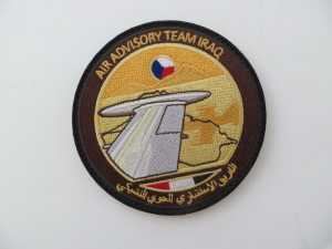 Rukávové označení leteckého poradního týmu v Iráku