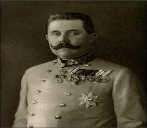 Stejnokroj Františka Ferdinanda d´Este, 1914