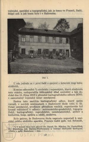 Původní sídlo ústavu v pražském Újezdě.