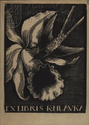 Exlibris Karla Hlávky.