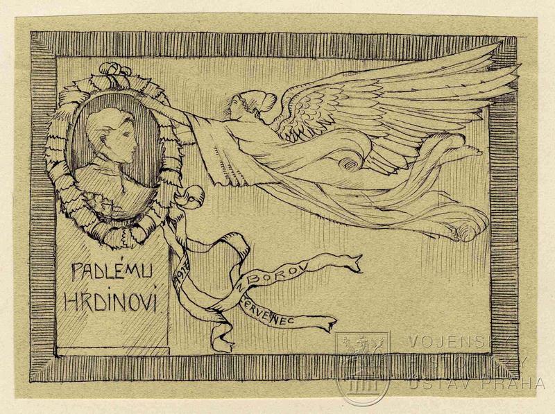 Karel Babka, Padlému hrdinovi od Zborova, 1917.