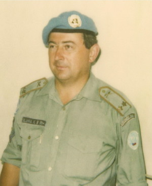 Karel Blahna na snímku z roku 1992