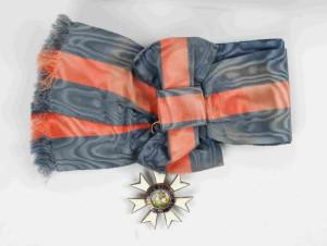 Britský Řád sv. Michaela a sv. Jiří prezidenta T. G. Masaryka, I. třída, velkokříž