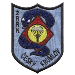 Některé části výcvikové základny mírových sil v Českém Krumlově měly i výsadkovou přípravu…