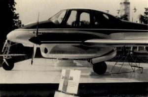 Civilní letoun Let L-200 Morava vystavený jako exponát