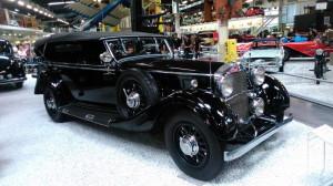 Mezi množství exponátů s vazbou na české dějiny v Muzeu automobilismu a techniky v Sinsheimu patří i tento Mercedes-Benz Nürburg, používaný v Praze říšským protektorem Konstantinem von Neurathem