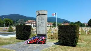 Východní pohřebiště československých vojáků na Cimetière National de Cernay