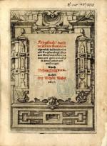 DILICH, Wilhelm. Kriegsbuch