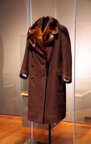 Zimní plášť Aloise Eliáše