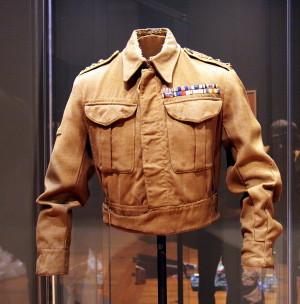 Dobový stejnokroj generála čs. armády v zahraničí