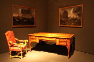 Stůl Reinharda Heydricha, který měl ve své kanceláři na Pražském hradě