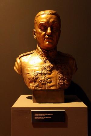 Busta generálka Aloise Eliáše od Břetislava Bendy