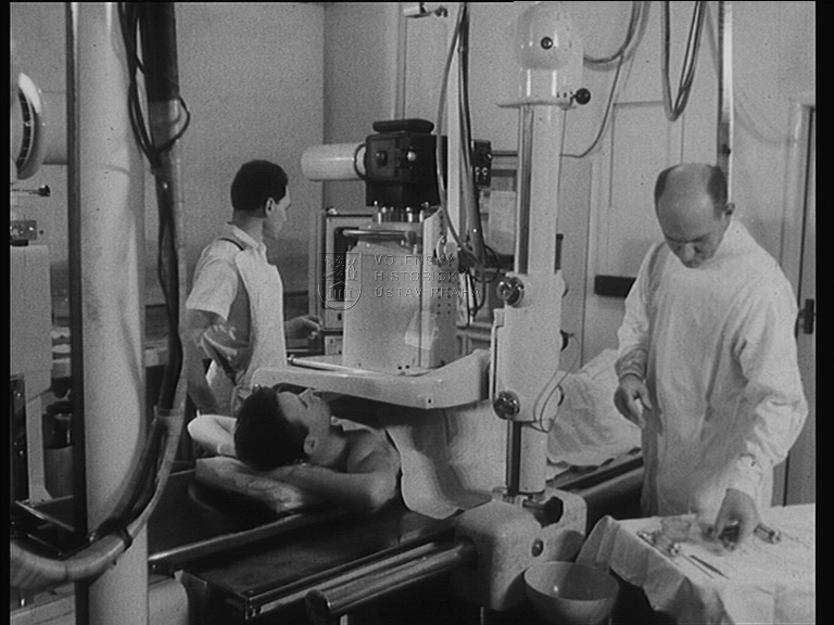 "Film ""Katetrisační angiografie"""