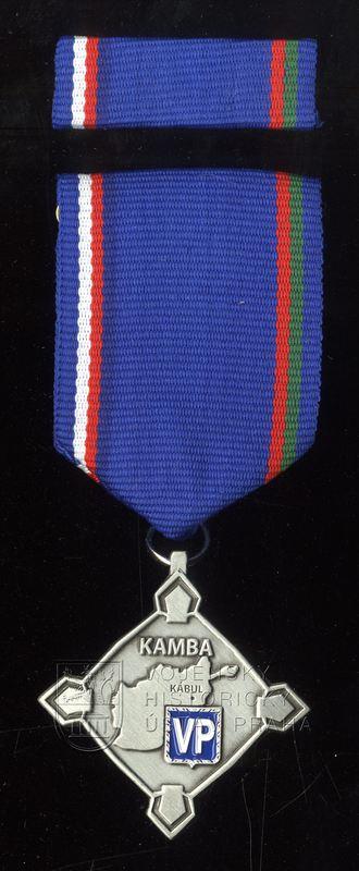 Pamětní odznak Jednotky Vojenské policie ochrany Zastupitelského úřadu v Kábulu (KAMBA)