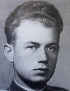 Vladimír Panoš na snímku z roku 1943