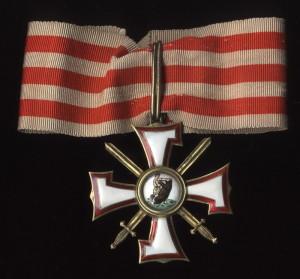 Lotyšský Řád medvědobijce – II. třída