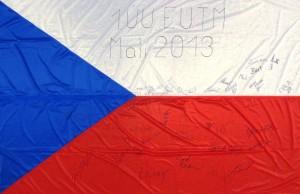 Státní vlajka České republiky od 1. jednotky AČR, Mali - EUTM