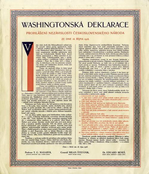 Washingtonská deklarace