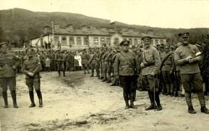 Čs. legionáři ve Vladivostoku před evakuací do vlasti