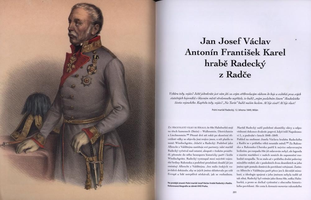 Reprezentativní publikace přibližuje osudy českých důstojníků v bojích z let 1848-1849