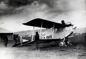 Aero A-14 ve službách Československých státních aerolinií na letišti