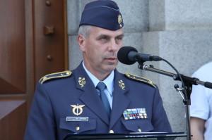 Velitel Vzdušných sil Armády České republiky, brigádní generál Petr Hromek