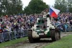 Dopravní omezení při příjezdu na Tankový den v sobotu 1. září 2018