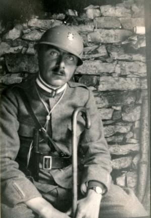 Italská přilba Lippmann, 1918