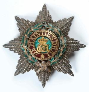 Lucemburský Řád dubové koruny – I. třída, velkokříž