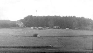 Sovětské retlansační zařízení na konci letiště Mladá v srpnu 1968. (VHÚ)