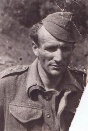 Npor. Otakar Jaroš v Buzuluku v létě 1942