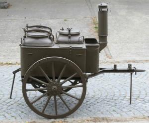 Československá převozná polní kuchyně vzor 09