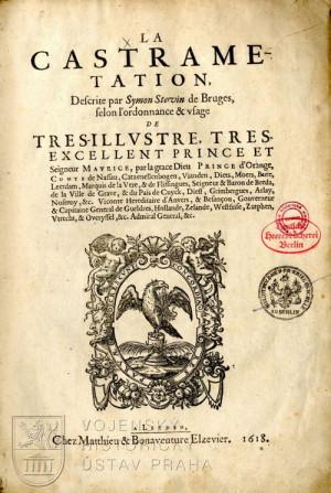 Titulní list La castrametation.