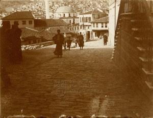 Ulice v Soluni kolem roku 1911, těsně před první balkánskou válkou