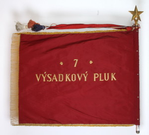 Zástava 7. výsadkového pluku, 1968