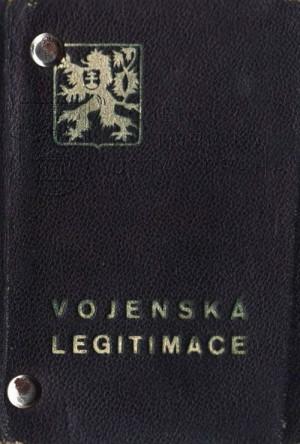 Vojenská legitimace npor. Otakara Jaroše