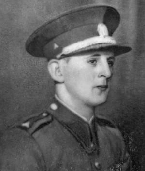 Četnický strážmistr Josef Falber zavražděný henleinovskými teroristy 13. září 1938 v krušnohorské Bublavě