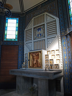 Oltář (foto Tomáš Kykal)