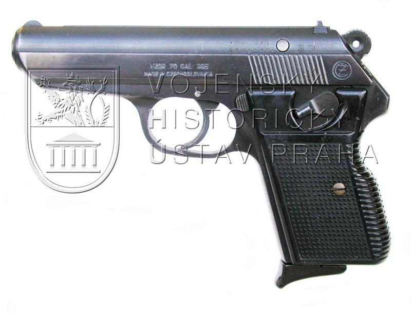 Pistole ČZ vzor 70