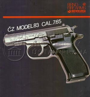 Pistole ČZ model 83