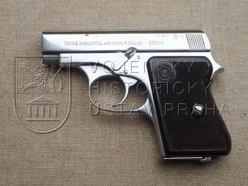 Pistole ČZ vzor 36