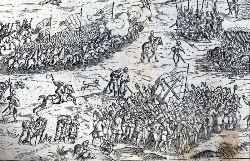 Polní střet u Čáslavi 1618, před čtyřmi stovkami let