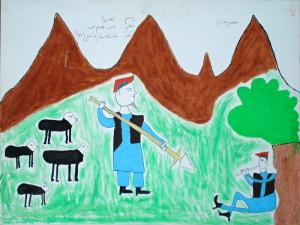 Afghánští pastevci.