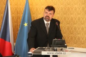 Václav Horčička z Filozofické fakulty Univerzity Karlovy přednesl první příspěvek konference